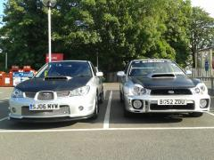 Hawkeye and bugeye!