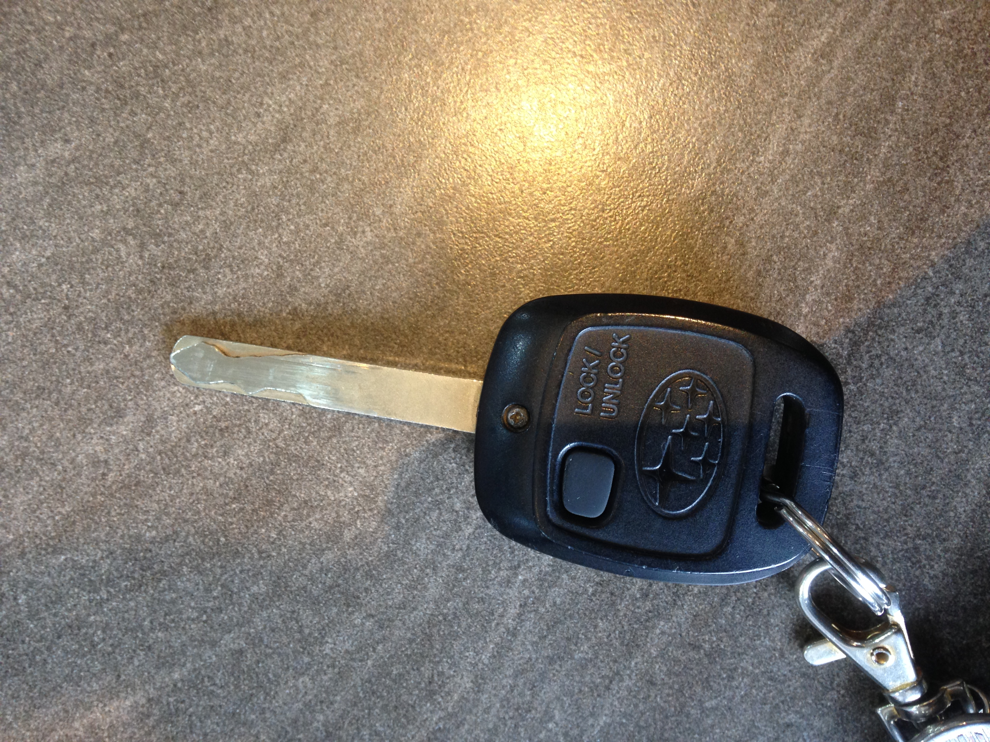 2007 Outback key button does not work. - Subaru Legacy ...