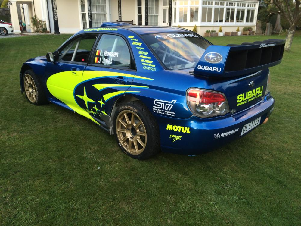 Subaru S12b WRC AT06 SRT Rally Car for Sale by Tree Group IMG_1830.JPG