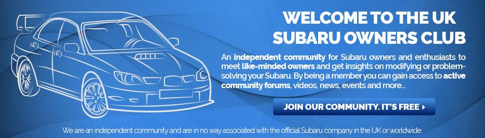 Index - Subaru Owners Club UK | Subaru Forum for all Subaru