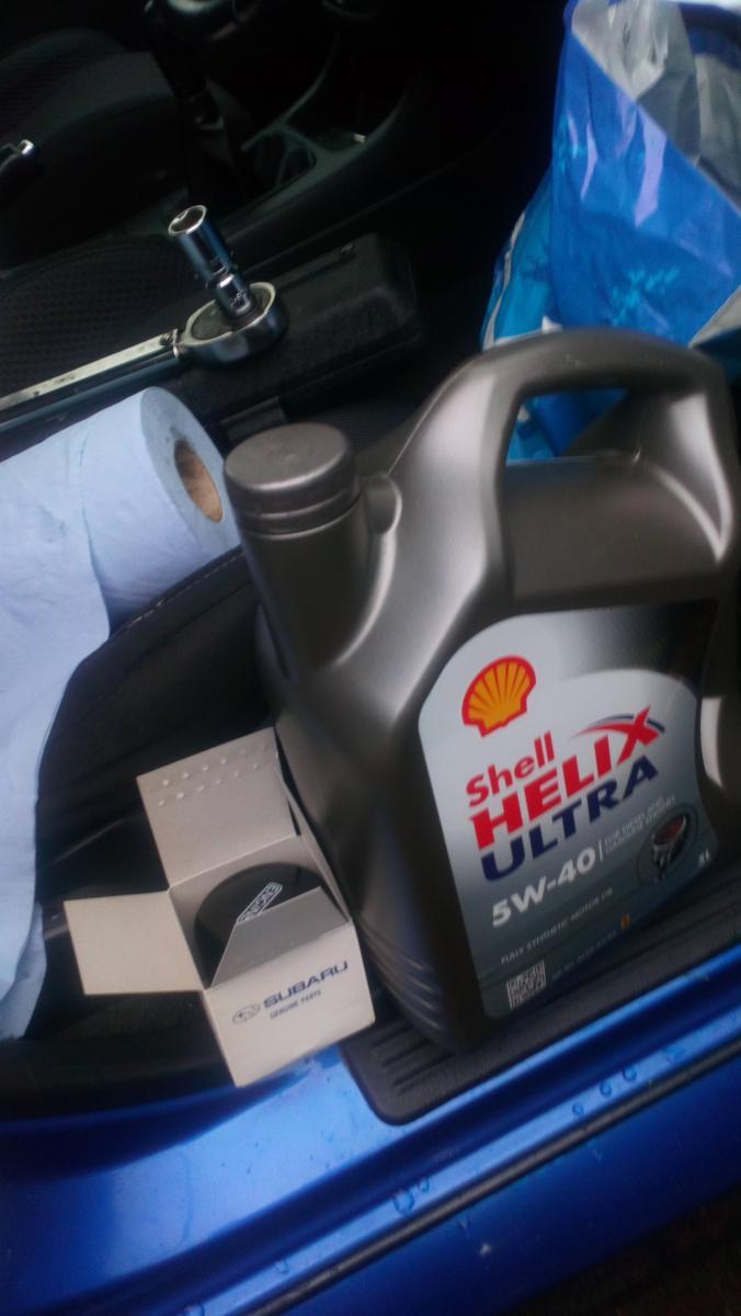 Oil change 02